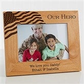 Military Hero Personalized Frame- 5 x 7 - 12608-M