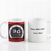 Birthday Oldometer Personalized Mug 11oz.- White - 12625-S