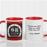 Birthday Oldometer Personalized Coffee Mug 11oz.- Red - 12625-R