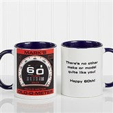Birthday Oldometer Personalized Coffee Mug 11oz.- Blue - 12625-BL