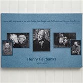 A Wonderful Life Memorial 12 X 18 Photo Collage-3 Photos - 12637-3