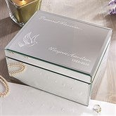 In Loving Memory Engraved Reflections Keepsake Box-Large - 12652-L