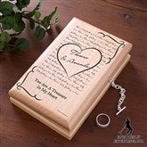 Elvis Can't Help Falling In Love™ Engraved Jewelry Box - 12668