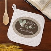 Baked With Love Personalized Potholder - 12685-P
