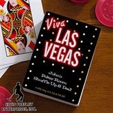 Elvis Viva Las Vegas™ Personalized Playing Cards - 12691