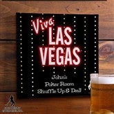 Elvis Viva Las Vegas™ Personalized Bar Art - 12693