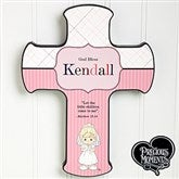 Precious Moments® Personalized 1st Communion Cross - 12694