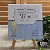 Precious Moments® Personalized 1st Communion Canvas - 12696