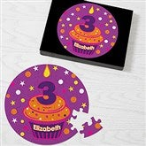 My Little Cupcake Personalized Birthday Puzzle - 12702