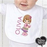 Precious Moments® Birthday Personalized Infant Bib - 12708-B
