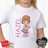 Precious Moments® Birthday Personalized Hanes® Youth T-Shirt - 12708-YCT