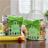 Colorful Eggs Personalized Candy Paint Can - 12713