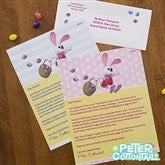 Peter Cottontail® Personalized Easter Letter - 12720