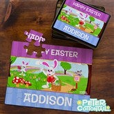 Peter Cottontail® Personalized 25 Pc Photo Puzzle & Tin - 12723-25H