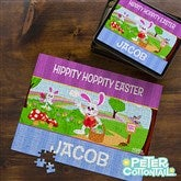 Peter Cottontail® Personalized 252 Pc Photo Puzzle & Tin - 12723-252H