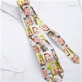 Favorite Faces Personalized Photo Collage Tie - 12728