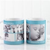 Picture Perfect Personalized Photo Mug- 11 oz-5 Photo - 12730-S5