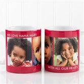 Picture Perfect Personalized Photo Mug- 11 oz.-3 Photo - 12730-S3
