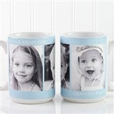Picture Perfect Personalized Photo Mug- 15 oz.-3 Photo - 12730-L3
