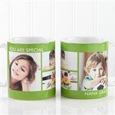 Picture Perfect Personalized Photo Mug- 11 oz-4 Photo - 12730-S4