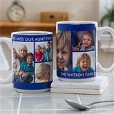 Picture Perfect Personalized Photo Mug- 15 oz.-6 Photo - 12730-L6