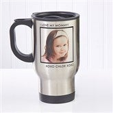 Picture Perfect Personalized Photo Travel Mug-1 Photo - 12733-1