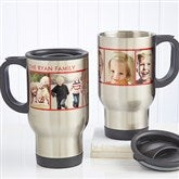 Picture Perfect Personalized Photo Travel Mug-5 Photos - 12733-5