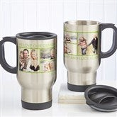 Picture Perfect Personalized Photo Travel Mug-6 Photos - 12733-6