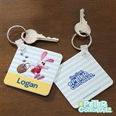 Peter Cottontail® Personalized Key Ring - 12736