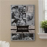 Family Photo Memories Personalized Canvas - 16