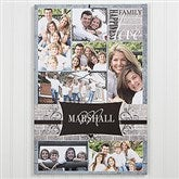 Family Photo Memories Personalized Canvas Print - 24