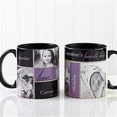 My Favorite Faces Photo Coffee Mug 11oz.- Black - 12739-B