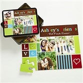 Photo Fun Personalized 25 Pc Photo Puzzle & Tin - 12744-25