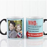 Who Loves You? Personalized Coffee Mug- 11 oz. Black Handle - 12755-B