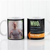 Who Loves You? Personalized Coffee Mug 11 oz.- White - 12755-S