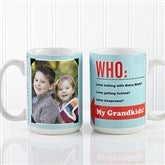 Who Loves You? Personalized Coffee Mug 15 oz.- White - 12755-L