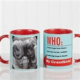 Who Loves You? Personalized Coffee Mug 11 oz.- Red - 12755-R