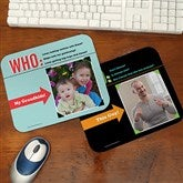 Who Loves You? Personalized Photo Mouse Pad - 12758