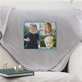 Picture Perfect Personalized Sweatshirt Blanket-3 Photo - 12760-3