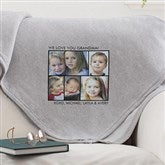 Picture Perfect Personalized Sweatshirt Blanket-4 Photo - 12760-4