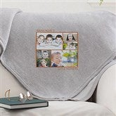 Picture Perfect Personalized Sweatshirt Blanket-5 Photo - 12760-5