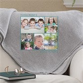 Picture Perfect Personalized Sweatshirt Blanket-6 Photo - 12760-6