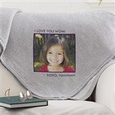 Picture Perfect Personalized Sweatshirt Blanket-1 Photo - 12760-1