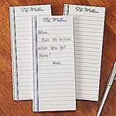 Family Is Forever Personalized Notepad Set Of 3 - 12782