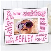 It's Me! Personalized Alphabet Name Frame - 1279