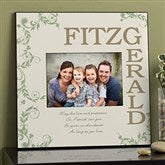 Irish Family Blessing Personalized Picture Frame - 12795