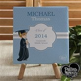 Precious Moments® Personalized Graduation Canvas - 12810