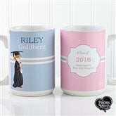 Precious Moments® Personalized Graduation Coffee Mug 15 oz.- White - 12812-L