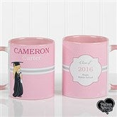 Precious Moments® Personalized Graduation Coffee Mug 11 oz.- Pink - 12812-P