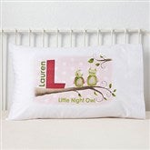 Owl About You Personalized Pillowcase - 12815